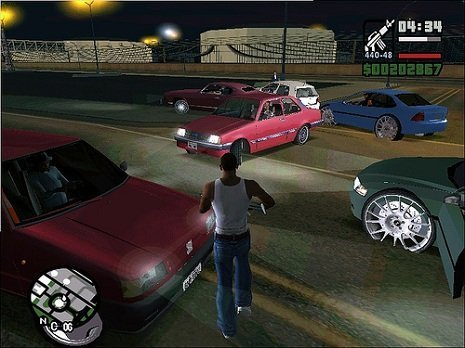 Carros GTA San Andreas - Uno, Chevete, Vectra
