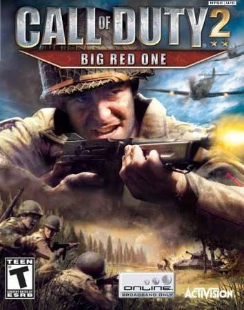 Capa do jogo Call of Duty Big Red One