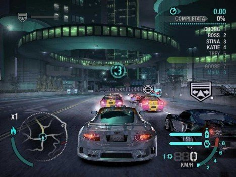 Need For Speed Carbon – Playstation 2 – Cheats, Manhas