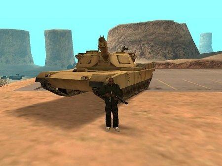GTA San Andreas - Tanque de guerra