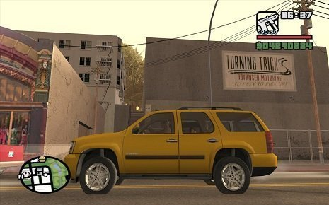 Tahoe no GTA