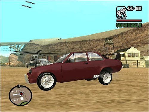carros de arrancada para gta san andreas pc