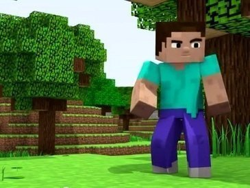 Personagem do jogo Minecraft