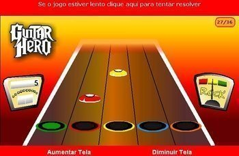 Gráficos de Guitar Flash