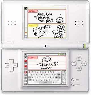 Com usar o PictoChat do DS?