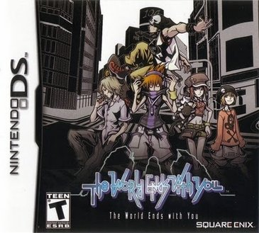 Imagem do jogo The World Ends With You para Nintendo DS