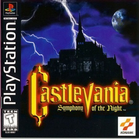 Capa do Castlevania Simphony of the Night PS2
