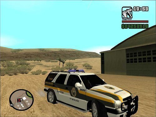 Download Do Arquivo  Blazer Rotam PM Paran   Para O GTA San Andreas