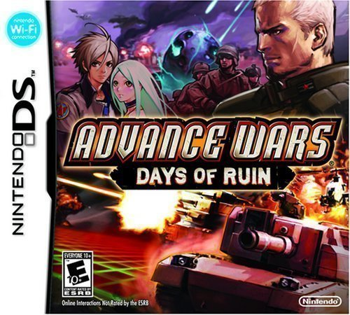 Manhas de Advance Wars - Days of Ruin