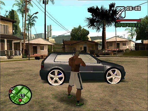 Carros GTA     Golf VR6 Tunado      GTA San Andreas